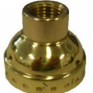 Brass-plated cap only for standard-based socket 1/4 IPS   TR-535