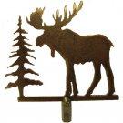 Rustic moose lamp shade finial   RF-2