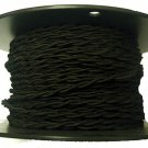 Black twisted rayon wire