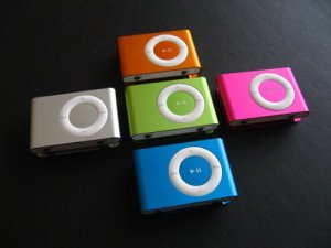 1 GB MP3  player-no LCD-suffle style