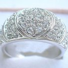 Diamond Cubic Zirconia .925 Ring size 9