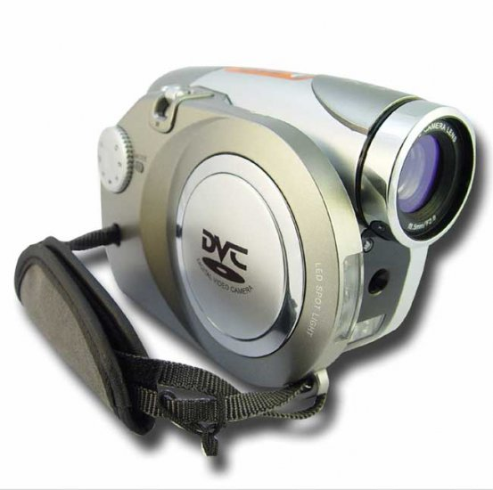 5.0 mega-pixel High Resolution Digital Camcorder + Camera - 2.4 Inch TFT Screen
