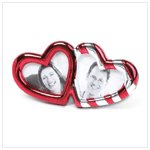 double heart frame