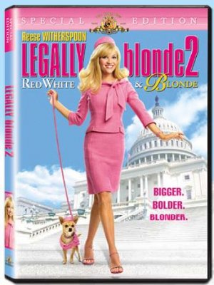 Legally Blond 2 - Red, White and Blond - Factory Sealed