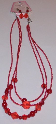 Red Jewel beads