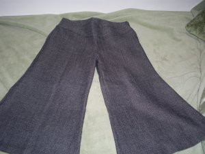 Gray Tweed Sway Capris