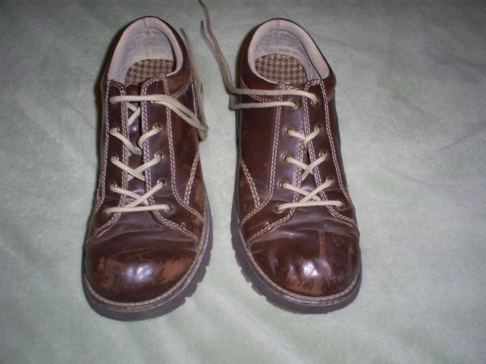 Brown Doc Marten Shoes