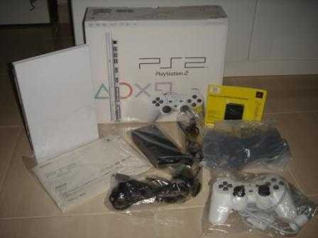 Playstation 2 Ceramic White (Used)