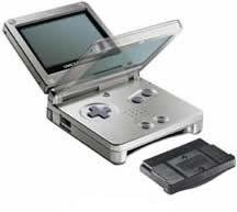 GameBoy Advance SP Silver (Used)