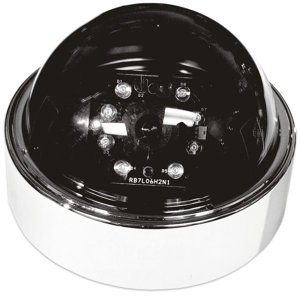 Infrared Day/Night Armor Dome/Black & White� DC-777W-DN Wired Day / Night Camera with Plug & Play