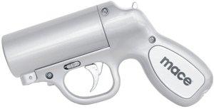 80403 Silver/ MACE PEPPER GUN