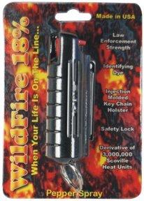 WF-18smBLK  1/2 oz. Wildfire 18% Pepper Spray Black