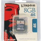 8GB Memory Card• SD-CARD