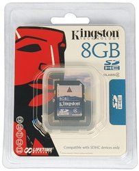 8 GB SD Card-  SD-CARD8GB