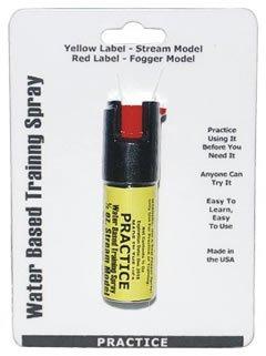 1/2 ounce steam practice spray--- INERT