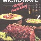 Bhg Better Homes Garden Microwave Recipes Made Easy Cook Book Hardcopy Color Illust 0696008459