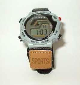 Mens Sports Watch with Chrono Alarm Snooze Hourly Chime - New -