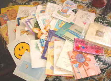 Hallmark 50 Card Lot ~ All Occasion ~ Current 1st Quality Stationery
