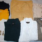 Mixed Lot Ladies Size Medium 8 Pc Clothing Shirts, Pants, Skirt Dockers, Rue 21, Plus More