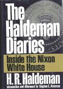 New Book: The Haldeman Diaries ~ Inside the Nixon White House Hardcover 0399139621
