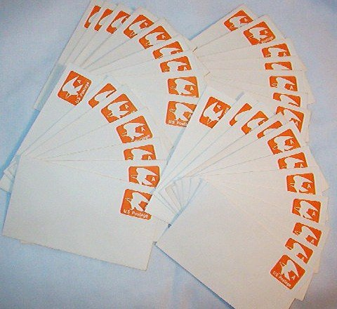 1978 Usps ~ A ~ Prestamped Envelopes Lot of 17 - vg Cond