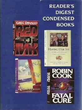 Readers Digest 1994 Vol 4 Hardcopy Fatal Cure, Amy Hill Hearth, Red Ink, Wrong House, Having Our Say