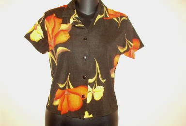 Lot of 11 Es Se Ladies Short Sleeve Floral Summer Shirts ~ Sizes Small Med Large