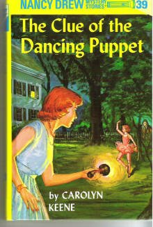The Clue of the Dancing Puppet Number 39 HdCvr ~ Nancy Drew by Carolyn Keene 0448095394
