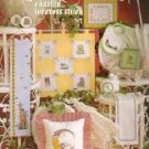 Just For Baby Leisure Arts Charted Cross Stitch Booklet By Dick Martin