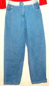 Real Comfort Ladies Denim Blue Jeans Size 8 - 28 x 30