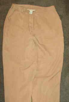 Mark Fore and Strike Washable Silk Tan Size 10 Pants As New