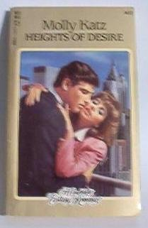 Rare Book: Heights of Desire by Molly Katz - Candlelight Ecstasy Romance Book 0440136156