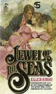 Jewel of the Seas by Ellen Argo 1978 Vintage Romance Book 0671818457