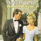 Expectations by Shannon Waverly Harlequin Romance Number 3319 Weddings Inc 0373033192