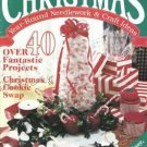 Christmas Needlework and Craft Ideas Magazine Sept/Oct 40 Projects Oxmoor House