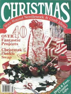 Christmas Year-RoundNeedlework and Craft Ideas Magazine Sept/Oct 40 Projects Oxmoor House