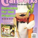 Craftworks Magazine June 1997 Garden Goodies, Fathers Day, Cross Stitch, Crafts, Patterns