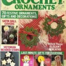 Christmas Crochet Ornaments 1987 Back Issue Magazine 70 Ornament Gift Decoration Patterns