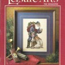 1989 Leisure Arts Holiday Mag 32 Projects Variety Craft Santas Elves, Reindeer Sweatshirt, Ornament