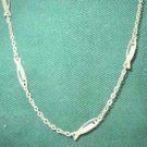 Silver Tone Fish Necklaces 15 inch or 16 inch Your Length Choice
