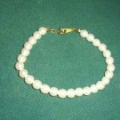 Elegant Faux Pearl Bracelet Excellent Quality and Condition ~ Estate Find