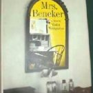 Mrs Beneker by Violet Weingarten - Hardcopy - 1967 Romance Novel Pristine