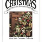 Christmas Year Round Craft Ideas Magazine 1990 Oxmoor House: Cross Stitch Ornaments