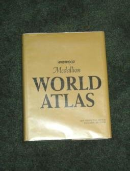 Hammond Medallion World Atlas 1979 Heavy Hardcopy 0843712317