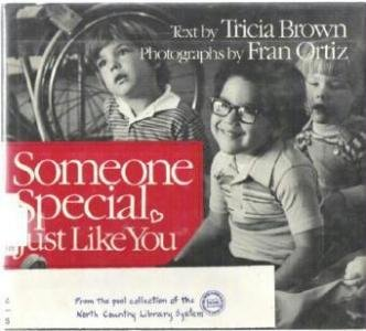 Someone Special Just Like You by Tricia Brown Hardcopy 0030697069
