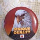 Citgo Oil Co Pinback American Eagle Advertisement Pristine and Mint!