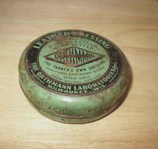 Othmann Labs Tin for Leather Dressing Vintage