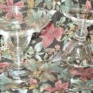2 Clear Margarita Glasses Excellent Condition ~ High Quality
