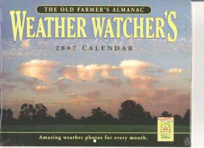 2007 Farmers Almanac Weather Watcher Calendar Factory Sealed/Plastic Weather