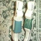 Pair of Rabbits Hand Crafted / Painted / Signed